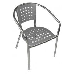 South Beach Arm Chair in Grey
