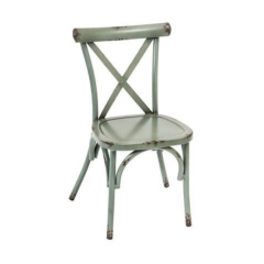 Farmhouse Side Chair in Teal