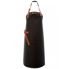 "Leather Apron ""Kansas"" Black"