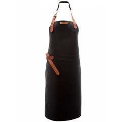 "Leather Apron ""Montana"" Black"