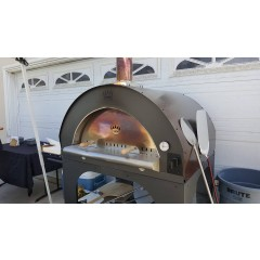 Pulcinella Maxi Wood Fired Pizza Oven by Clementi Forni