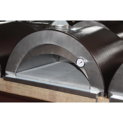"""Forno """"Nonno Peppe"""" - A Mobile Pizza Oven from Italy with LAVA STONE FLOOR!"""