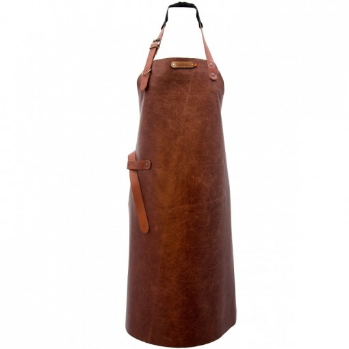 "Leather Apron ""New York"" Cognac"