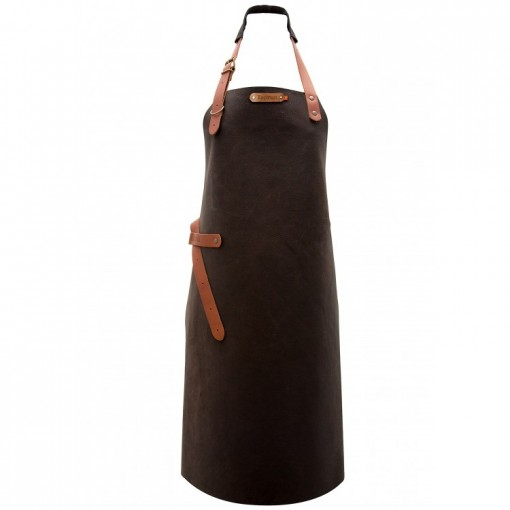 "Leather Apron ""Utah"" Choco"
