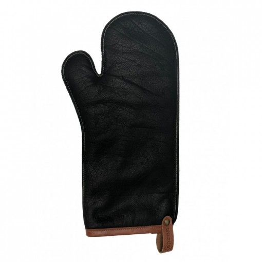 Leather Grill Gloves - Size L(Black)