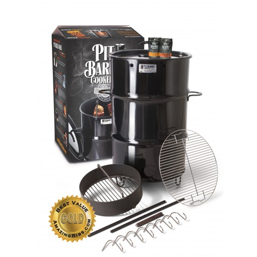 The Pit Barrel Cooker. Includes 5oz Taster Rub Pack! Save $50 by Picking up in Vaughan!