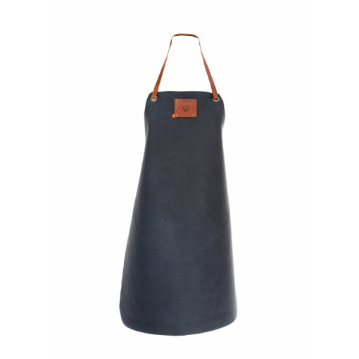 "Women's Leather Apron ""XPRN by Xapron"" Blue"