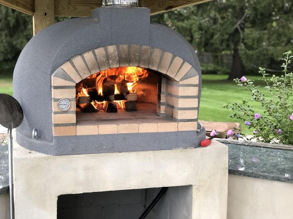 Wood Fired Brick Pizza