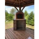 brick pizza oven canada