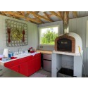 classic wood fired pizza oven