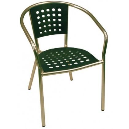 South Beach Arm Chair in Green