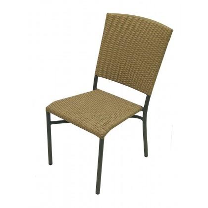 Aruba II Side Chair in Taupe