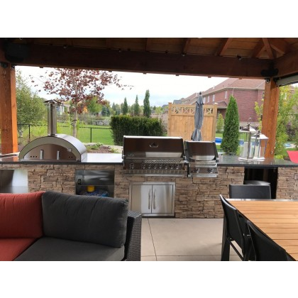 Pizzaiolo Outdoor Pizza Oven by Edil Planet