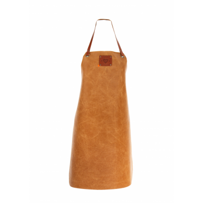 "Women's Leather Apron ""XPRN by Xapron"" Cognac"
