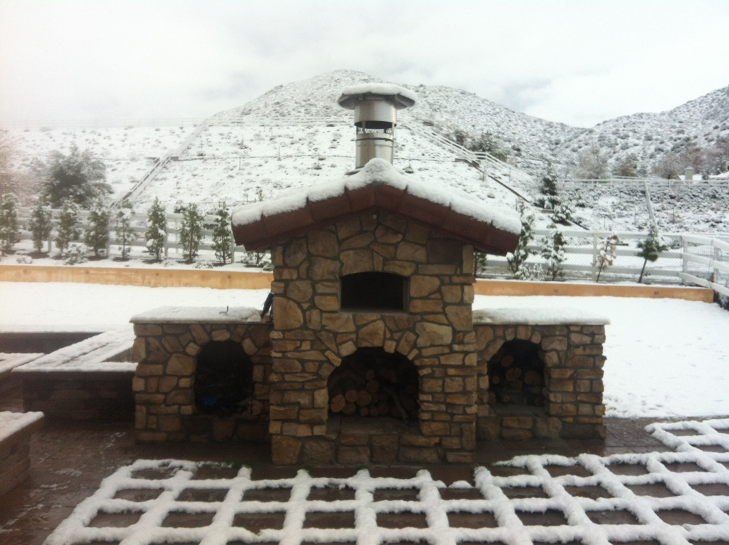 wood fired pizza oven Canada